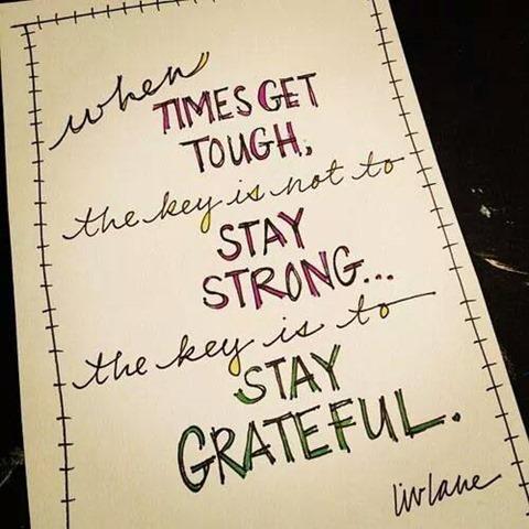 stay grateful